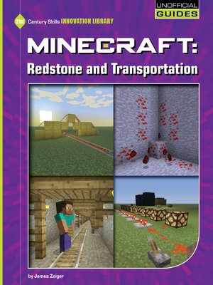 cover image of Minecraft - Redstone and Transportation